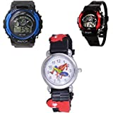 Users ANLG-Sports2+1 DSS-Kids Always Fun Analog-Digital Watch - For Boys & Girls Set of 3 Watches