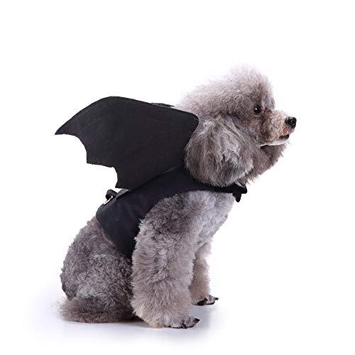 O-center Fledermaus Kostüm Weihnachten Halloween Haustier Hund Katze Welpen Kostüme Kleidung Dressing Pet Kleidung für Hunde Katzen-S