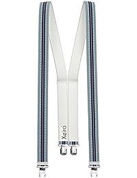 Bretelles de qualité xeira ® dans de nombreux designs avec 4 pinces ultra puissantes xL disponibles-fabriqué en allemagne