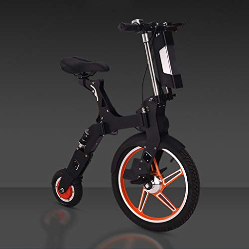 DEPTH Bicicletas Mini Eléctricos E-Vespa De La Bici