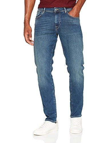 SELECTED HOMME Herren Straight Jeans Shnstraight-Scott 1004 M.Blu ST JNS Noos, Blau (Mediu Preisvergleich