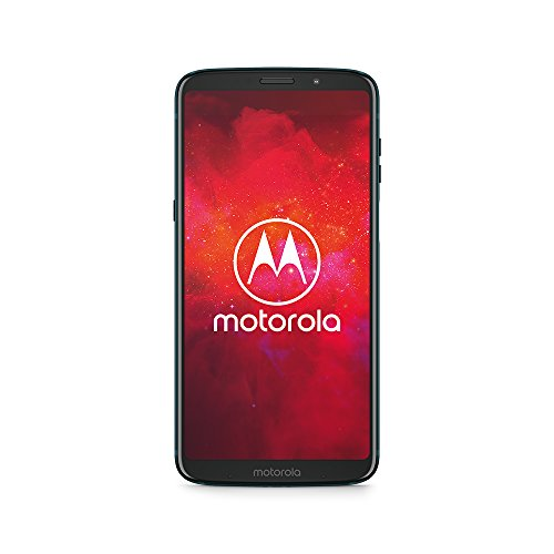 Motorola moto z3 play Smartphone BUNDLE (6 Zoll) + moto Power Pack + moto Style Shell - Black Leather, 4 GB RAM/64 GB, Android Deep Indigo [Exklusiv Bei Amazon] (Handy Z3)