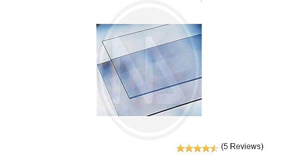 Vetro Sintetico Trasparente in Lastra Maurer 500x250 mm spessore 2 mm