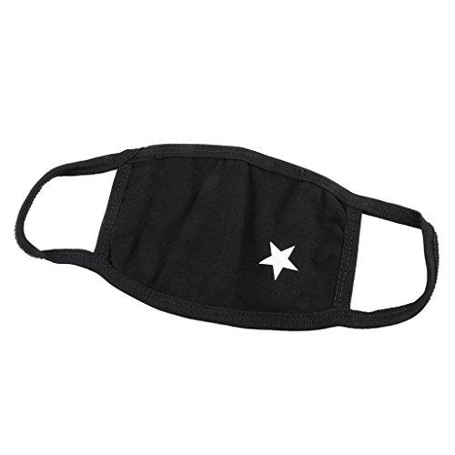 Homyl Damen Herren Jungen Mädchen Mundmaske Kälteschutz Sterne Mundschutz Maske Gesichtsmaske Staubschutz aus Baumwoll