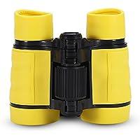 Binoculares Telescopio para niños Juguete Telescopio de Observación de Aves(Amarillo)