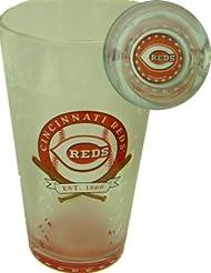 Cincinnati Reds 17 Oz. Glass