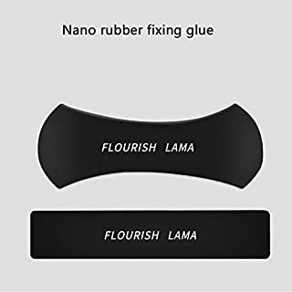 Aijin Nano Rubber Fixed Anti-Rutsch-Pad waschbar für Auto GPS, iPad, Handy, Küchenschrank oder Fliesen, WC-Mehrzweck-Gel-Halterung