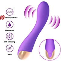 ‏‪threeWHO Recharge Speed Super Strong Motors Waterproof Silicone Massager- Foot Back Waist Neck Massager (Purple)‬‏