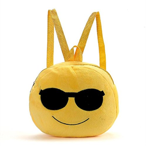 Emoji Emoticono Mini bolsa Sannysis mochila infantil (03)