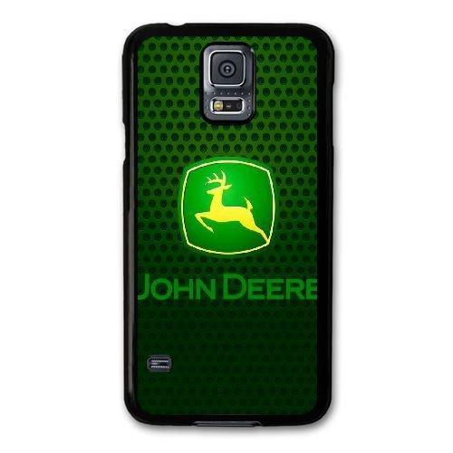 Generika Call Telefon hülle für Samsung Galaxy S5 Mini/Schwarz/JOHN DEERE LOGO/Nur für...