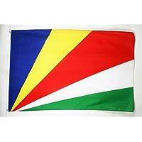 BANDERA de SEYCHELLES 150x90cm - BANDERA SEYCHELENSE 90 x 150 cm - AZ FLAG