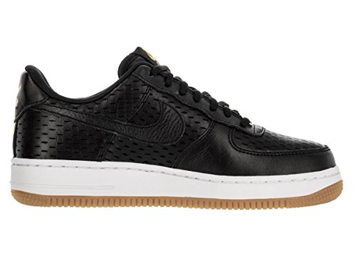 Nike - Wms Air Force 1 '07 Prm, Scarpe sportive Donna Black (Nero / Nero-Bianco Summit)