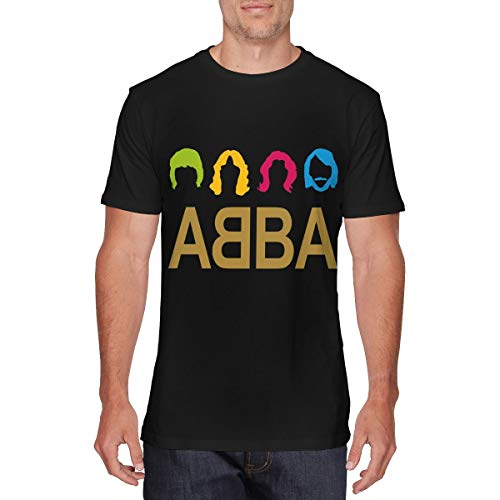 Men's Vintage Abba T-Shirts with non-fade print. S to 6XL
