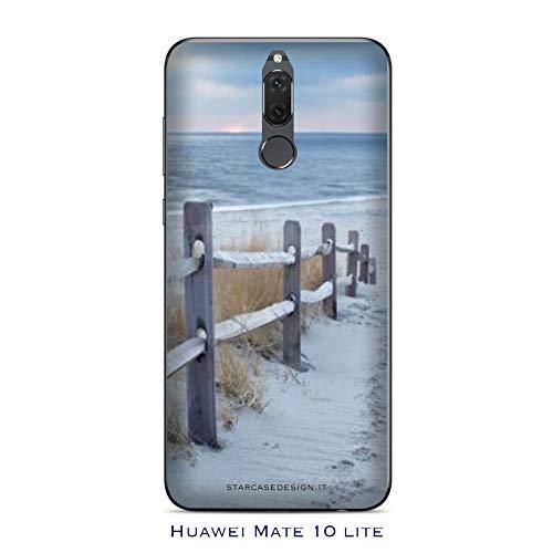 Generico Cover Huawei Mate 10 Lite Spiaggia