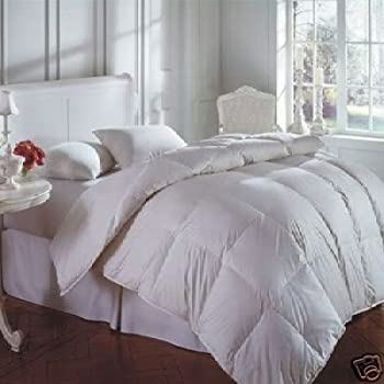All Seasons 15 Tog (10.5 + 4.5) DOUBLE Size Goose Feather & Down Duvet Quilt, 25% DOWN / 75% Feather By Rejuvopedic©