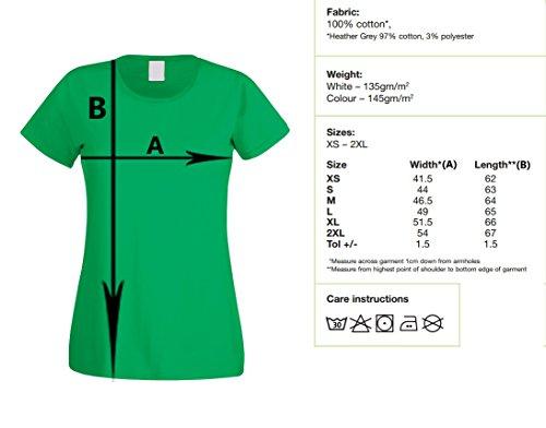 T-shirt donna - Leggermente ACIDA parodia logo - by L'Arcobaleno di Luci Bianca