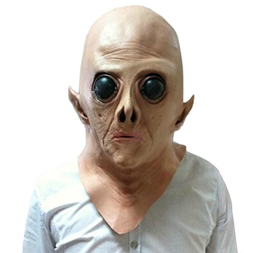 Kostüm Puppet Outfit (Samgoo Halloween Horror Alien Latex Maske Mottoparty)