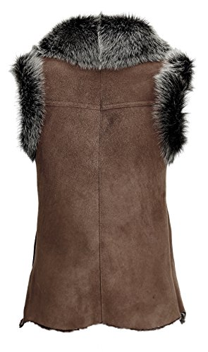 DX-Exclusive wear - Manteau sans manche - Parka - Femme Marron