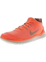 NIKE Damen Free RN 2018 Running 942837 Sneakers Turnschuhe (UK 6.5 US 9 EU 40.5, Crimson Grey 800)
