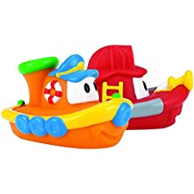 Nûby 6199 - Barcos flotantes, Surtido, Pack de 2