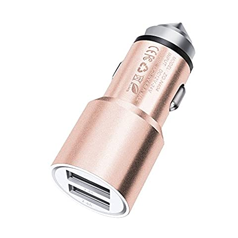 ONX3 (Rose Gold) Quick Charge Dual Port USB Full Metal