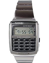 Casio CA506 - Reloj Unisex metálico Negro / Plata
