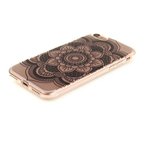 MOONCASE iPhone 7 Coque,Etui de Protection Coque Slim Antidérapant Case en TPU Gel Avec Absorption de Chocs pour iPhone 7 TX20 TX33