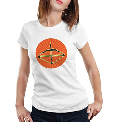 Navratri Special 11(Bow-Arrow) Women Sports Wear T-Shirt by iberrys  available at amazon for Rs.399