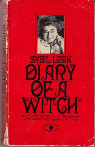 Diary of a Witch [Mass Market Paperback] by Leek, Sybil