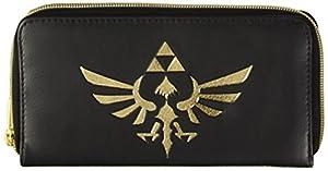 Legend of Zelda Triforce Ladies Logo Zip Alrededor de Cartera / Monedero