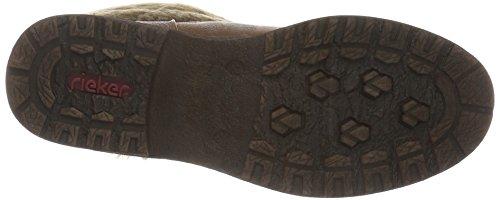 Rieker Damen 94770 Kurzschaft Stiefel Braun (Mandel/steppe / 24)