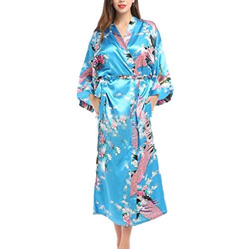 Erwachsenen Satin Kimono Robe bei Kostumeh.de