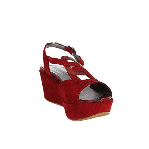 Cinzia Soft IAV13 0 Sandalo Donna Rosso