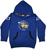 PAW PATROL BOYS Sweatshirt WITH HOOD, NAVY MELANGE