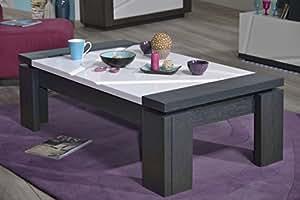 Dumobilier - Table basse 125 x 70 cm CRISTAL