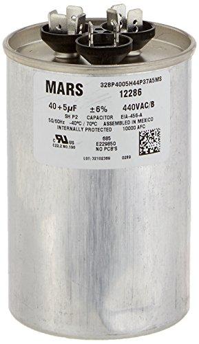 Mars–Motoren & Armatures 1228640+ 5UF MFD X 440VAC genteq Ersatz Dual Kondensator