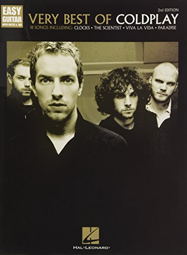 Very Best Of Coldplay, 2nd Edition (Easy Guitar): Songbook für Gitarre (Easy Guitar With Notes & Tab)