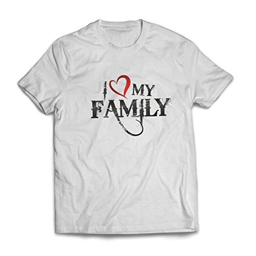 igartige Designer Hemden Zeigen Ihre Liebe - fantastisches zusammenpassendes Kleid der Familie (XXXXX-Large Weiß Mehrfarben) ()