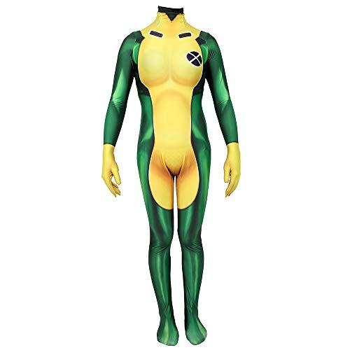 WEGCJU Spiderman Kostuum Kostüm 3D Print 2019 Halloween Kostüm Overall Party Leistung Kostüm Cosplay Korsett Halloween ()