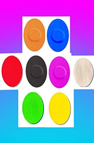 41tyw3ghhOL - FixTape atmungsaktive Sensor-Tapes für Freestyle Libre 1 & 2 I selbstklebende Over-Tapes für Glukose-Sensor I Schutz-Patch mit hohem Trage-Komfort I hautfreundlich wasserfest I 7 Stück