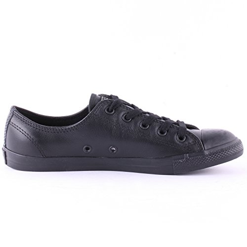 Converse All Star Dainty Leather Ox W chaussures - Noir