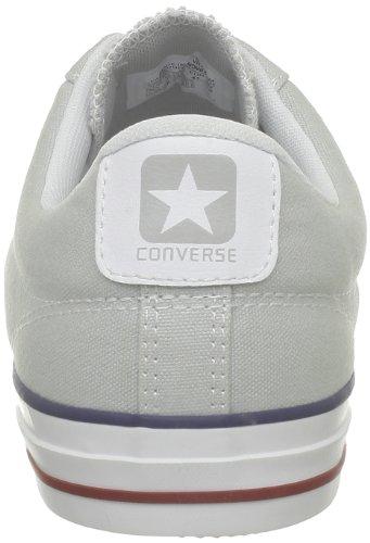 Converse Sp Core Canv Ox, Baskets mode mixte adulte Gris (Gris Clair/Blanc)