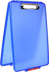 Dexas Slimcase Storage Clipboard, Blue