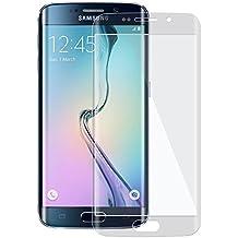 VSHOP ® Vitre verre trempé Samsung Galaxy S7 edge incurvé, VITRE PROTECTION en VERRE TREMPE Film protecteur d'écran Samsung galaxy S7 EDGE bords incurvés, full cover écran, Transparent