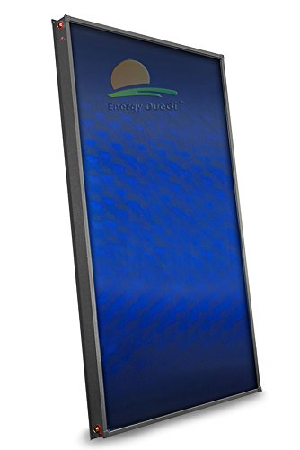 Sonnenkollektor Hohe Effizienz, für Produktion heißes Wasser DHW, Platte captante Aluminium Kupfer, gesamtes Leitungen mit Harfe