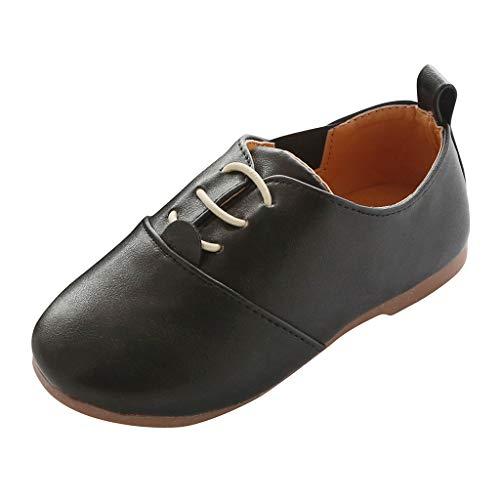 he im Britischen Stil Mode Lederschuhe Bequem Freizeitschuhe Kinder Jungen Mädchen Bohemian Casual Sandalen Loafer Flache Einzelne Schuhe Anzug Schuhe ()