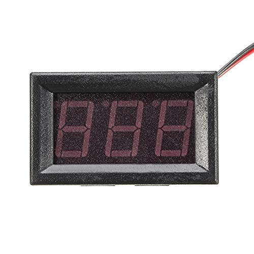 Yi Yi Ma Shi Pin Anzeige 5 Stücke 0,56 Zoll Blau AC70-500V Mini Digital Voltmeter Spannung Panel Meter AC Spannung Led-anzeige Meter Spannungsfeld