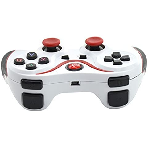 Aweek® T3 Bluetooth Controller Android Wireless Game Controller Gamepad Joystick for Smart Phones/ Tablets/ Smart TVs/ TV boxes etc., White by Aweek