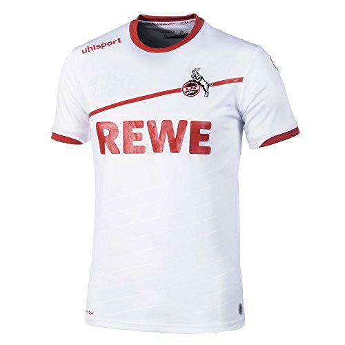 1. FC Köln Uhlsport Trikot Home 18/19 (140, weiß)