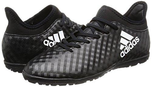 adidas X 16 3 Kids TF Football Trainers - Core Black White Core Black - Size 1